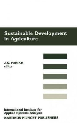 Sustainable Development in Agriculture (Hardcover)