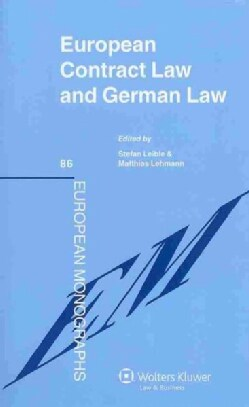 European Contract Law and German Law (Hardcover)