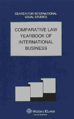 Comparative Law Yearbook Of International Business: Comparative Law Yearbook of International Business (Hardcover)