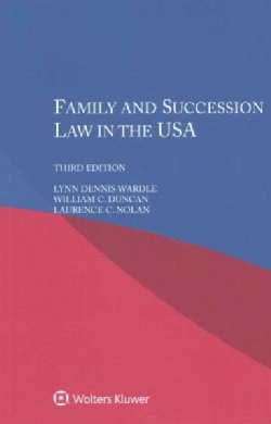 Family and Succession Law in the USA (Paperback)