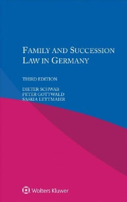 Family and Succession Law in Germany (Paperback)