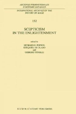 Scepticism in the Enlightenment (Paperback)