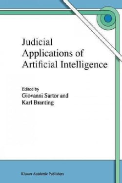 Judicial Applications of Artificial Intelligence (Paperback)