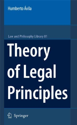Theory of Legal Principles (Paperback)