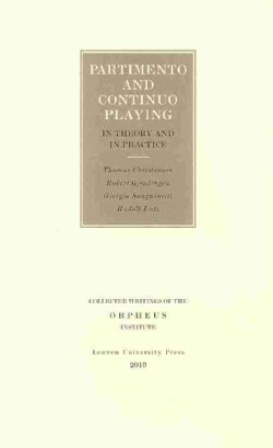 Partimento and Continuo Playing in Theory and in Practice (Paperback)