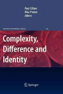 Complexity, Difference and Identity: An Ethical Perspective (Paperback)