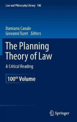 The Planning Theory of Law: A Critical Reading (Hardcover)
