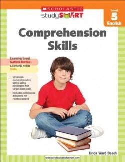 Scholastic Study Smart Comprehension Skills, Level 5 English (Paperback)