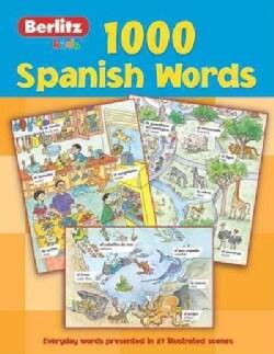 1,000 Spanish Words (Paperback)