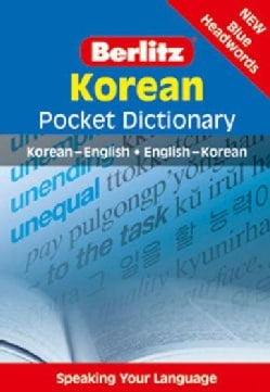 Berlitz Korean Pocket Dictionary: Korean - English English - Korean (Paperback)
