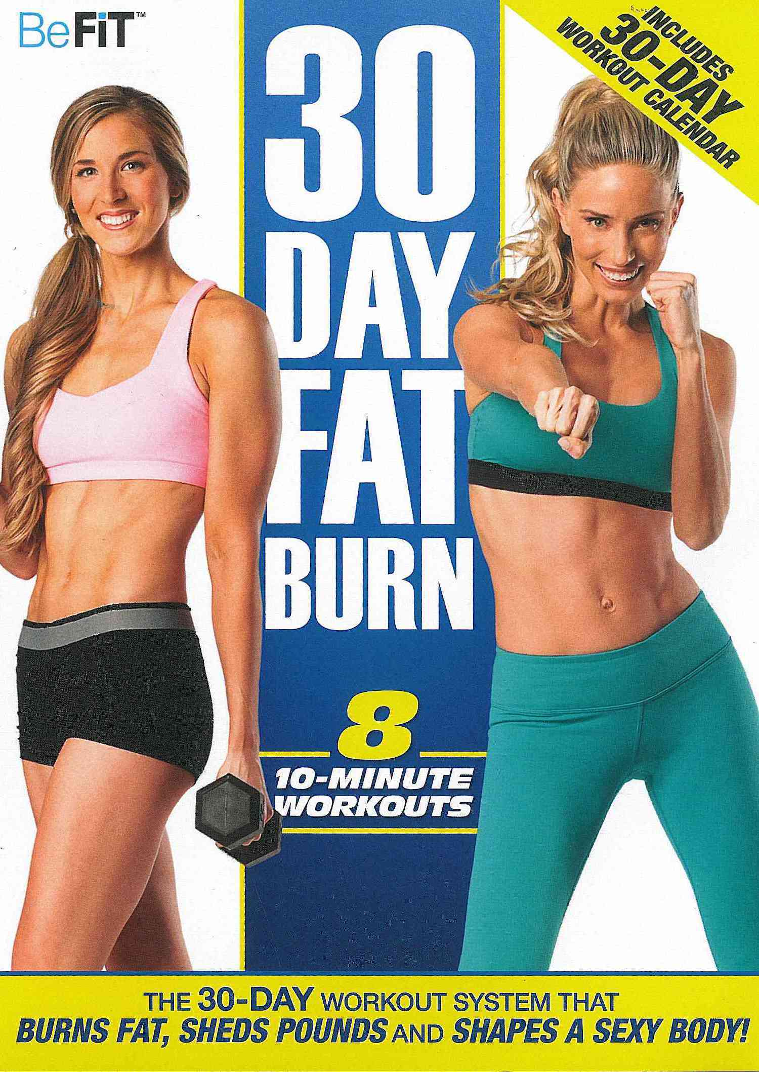 Befit: 30-Day Fat Burn (DVD) - 16940781 - Overstock.com Shopping - Big ...