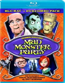 Mad Monster Party (Blu-ray/DVD)