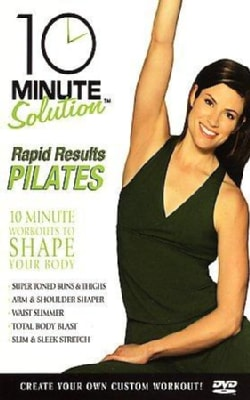 10 Minute Solution: Pilates Rapid Results (DVD)
