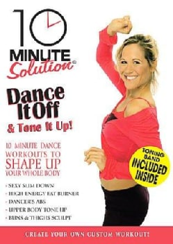 10 Min Solution: Dance It Off & Tone It Up (DVD)