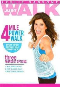 Leslie Sansone: 4 Mile Power Walk (DVD)