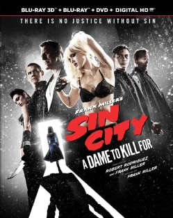 Sin City: A Dame To Kill For 3D (Blu-ray/DVD)