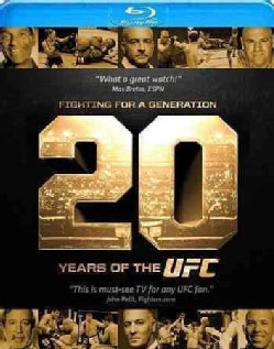 Fighting For A Generation: 20 Years Of The UFC (Blu-ray Disc)