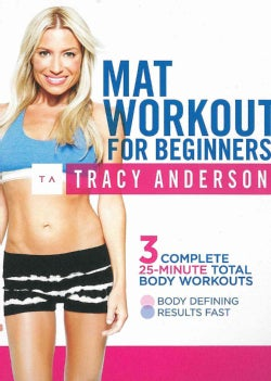 Tracy Anderson: Mat Workout For Beginners (DVD)