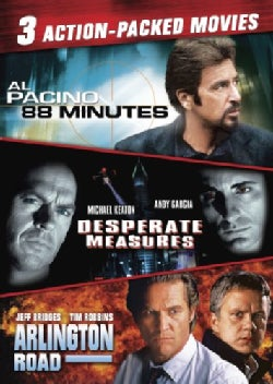 88 Minutes/Desperate Measures/Arlington Road (DVD)