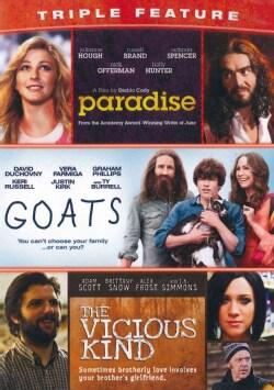Paradise/Goats/Vicious Kind (DVD)