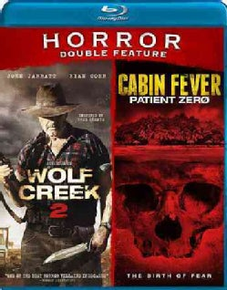 Wolf Creek 2/Cabin Fever (Blu-ray Disc)