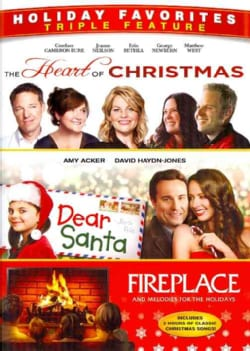 Heart Of Christmas/Dear Santa/Fireplace (DVD)