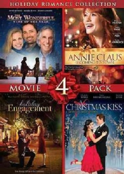 A Christmas Kiss/Holiday Engagement/The Most Wonderful Time Of The Year/Annie Claus Is Coming To Town (DVD)