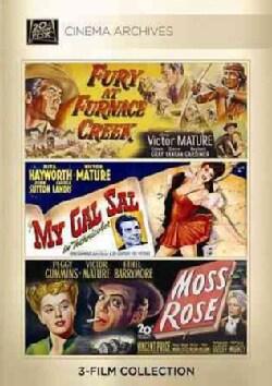 Fury At Furnace Creek/My Gal Sal/Moss Rose (DVD)