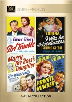 Girl Trouble/I Was An Adventuress/Mary The Boss's Daughter/Private Number (DVD)