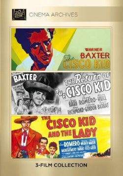 The Cisco Kid/The Return Of The Cisco Kid/The Cisco Kid And The Lady (DVD)