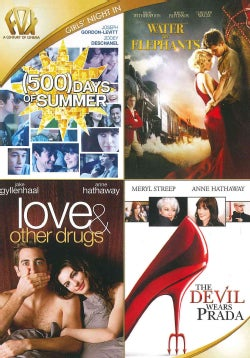 500 Days Of Summer/Water For Elephants/Love And Other Drugs/The Devil Wears Prada (DVD)