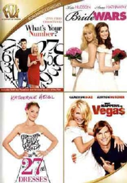 What's Your Number/Bride Wars/27 Dresses/What Happens In Vegas (DVD)