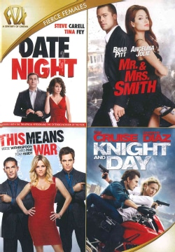 Date Night/Mr. And Mrs. Smith/This Means War/Day And Knight (DVD)