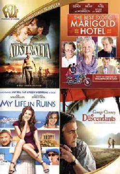 Australia/The Best Exotic Marigold Hotel/My Life In Ruins/The Descendants (DVD)