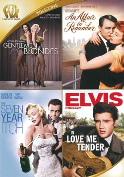 Gentlemen Prefer Blondes/An Affair To Remember/The Seven Year Itch/Love Me Tender (DVD)