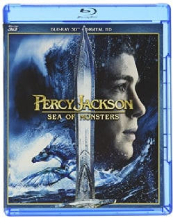 Percy Jackson: Sea Of Monsters 3D (Blu-ray Disc)