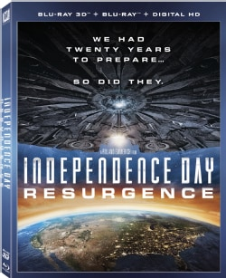 Independence Day: Resurgence 3D (Blu-ray Disc)