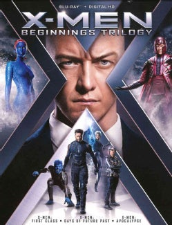 X-Men: Beginnings Trilogy (Blu-ray Disc)