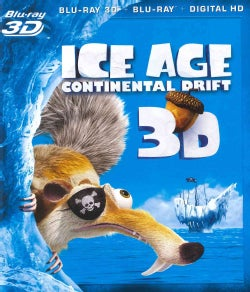 Ice Age: Continental Drift 3D (Blu-ray Disc)