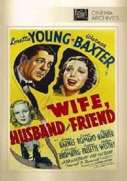 Wife, Husband And Friend (DVD)