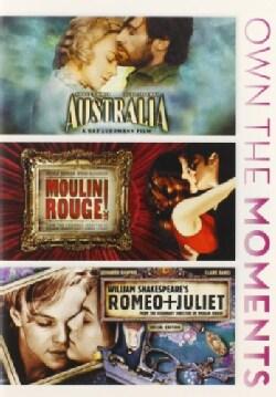 Australia/Moulin Rouge/Romeo & Juliet (DVD)