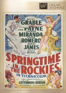 Springtime In The Rockies (DVD)