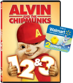 Alvin And The Chipmunks Triple Feature (DVD)