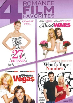 27 Dresses/Bride Wars/What Happens In Vegas/What's Your Number (DVD)