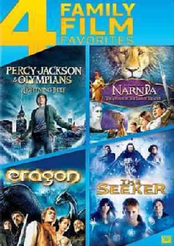 Percy Jackson & The Olympians: Lighting Thief/Voyage Of The Dawn Treader/Eragon/The Seeker (DVD)