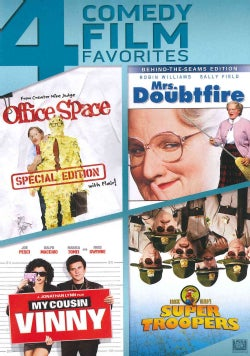 Office Space/Mrs. Doubtfire/My Cousin Vinny/Super Troopers (DVD)
