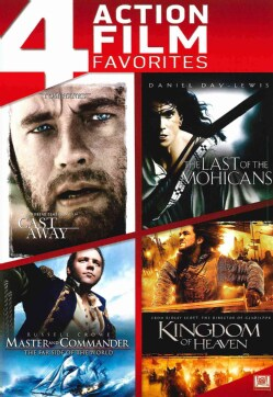 Cast Away/Last Of The Mohicans/Master And Commander/Kingdom Of Heaven (DVD)