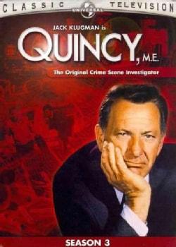 Quincy, M.E.: Season 3 (DVD)