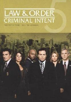 Law & Order: Criminal Intent Season 5 (DVD)