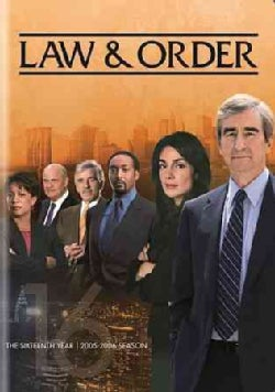 Law & Order: The Sixteenth Year (DVD)